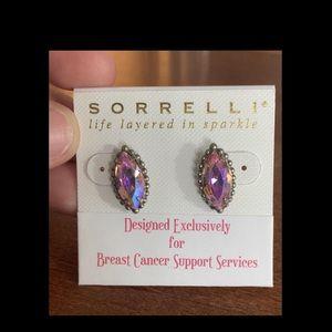 Pink Sorrelli Earrings